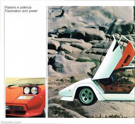 Scans Of Lamborghini Countach Lp5000 Qv Brochure 1987b Timpelen Com