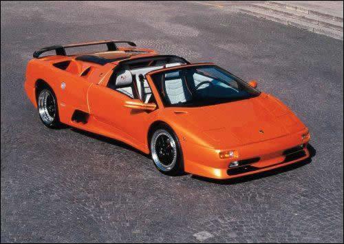 lamborghini diablo. Lamborghini Diablo Roadster SV