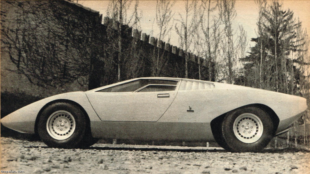 Lamborghini Countach Lp500 Prototype Scans From 1971 74